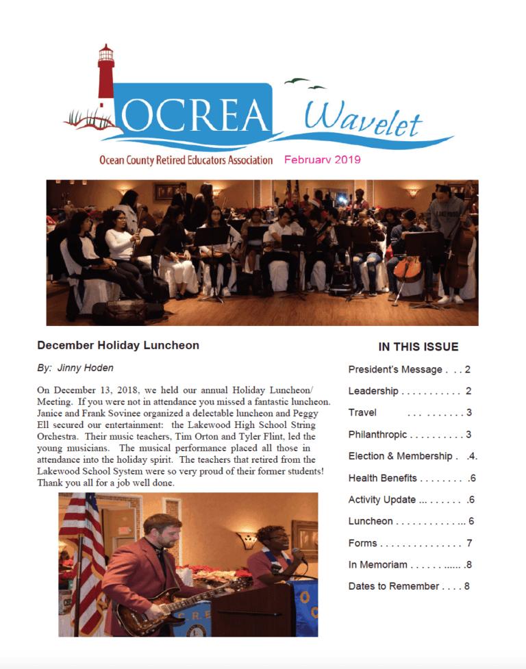 Wavelet – February 2019